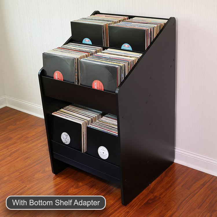 Close & LPBIN2 Vinyl Record Storage Cabinet