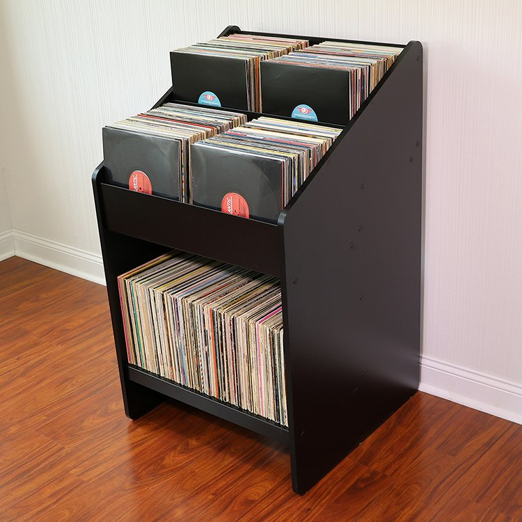 LPBIN2 Vinyl Record Storage Cabinet. Tap To Expand