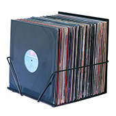 Bin-e LP Storage / FREE Groovemat / Heavy Metal
