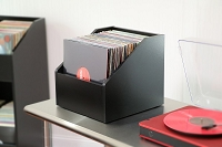 Bin-e LP Storage / Modern Black