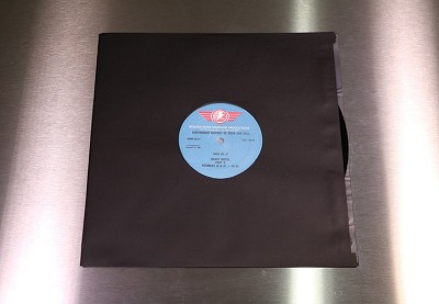 Inner LP Sleeves - Premium Black Paper with Soft Poly Lining / Pack of 50